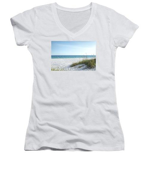 The Magnificent Destin, Florida Gulf Coast  Women's V-Neck