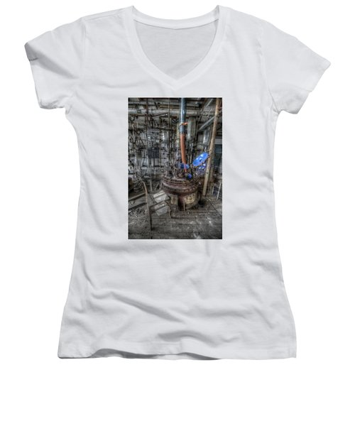 The Manual  Women's V-Neck T-Shirt (Junior Cut) by Nathan Wright