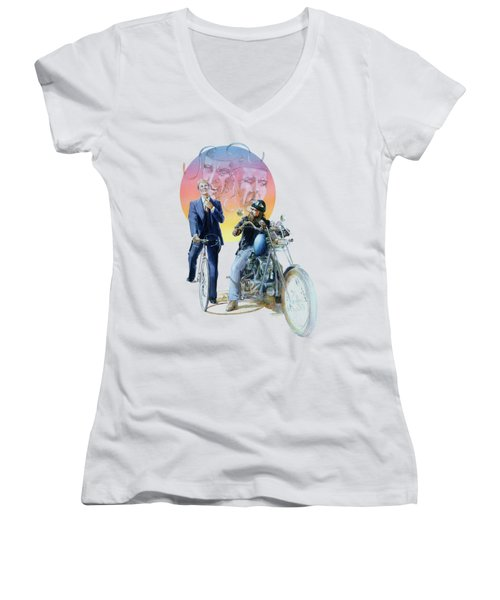The Missionary And The Angel Women's V-Neck