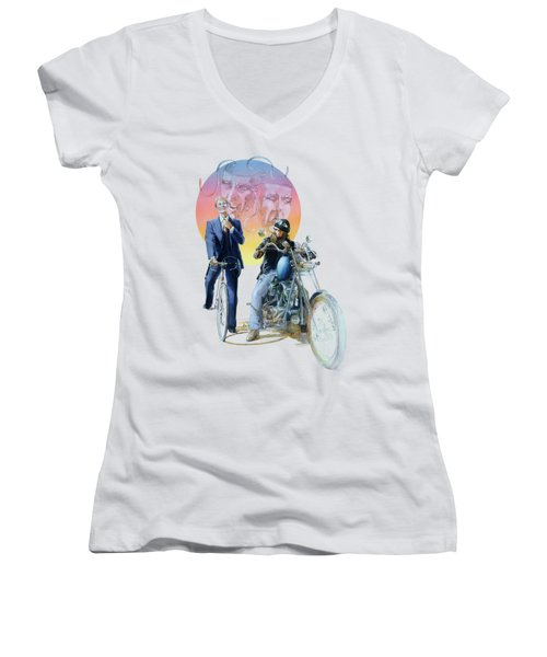 The Missionary And The Angel Women's V-Neck T-Shirt
