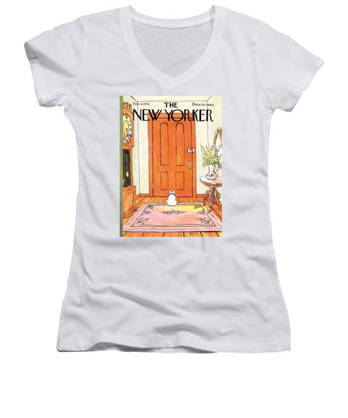 The Long Wait Women's V-Neck
