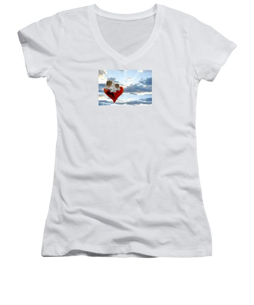 The Nuttings Are Coming Women's V-Neck (Athletic Fit)