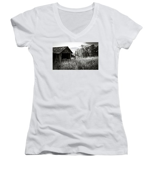 The Old Shed Women's V-Neck