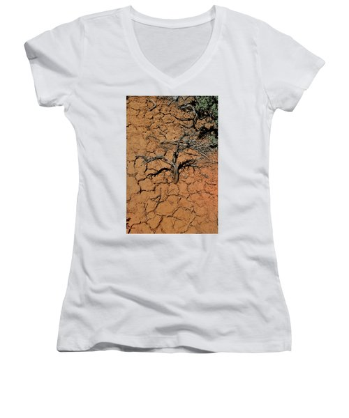 The Parched Earth Women's V-Neck