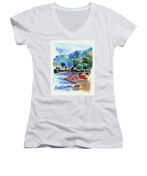 The Peloponnese Women's V-Neck