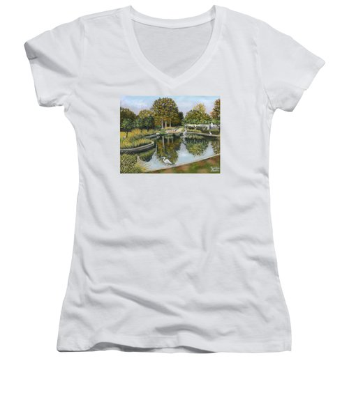 The Pond At Maple Grove Women's V-Neck (Athletic Fit)