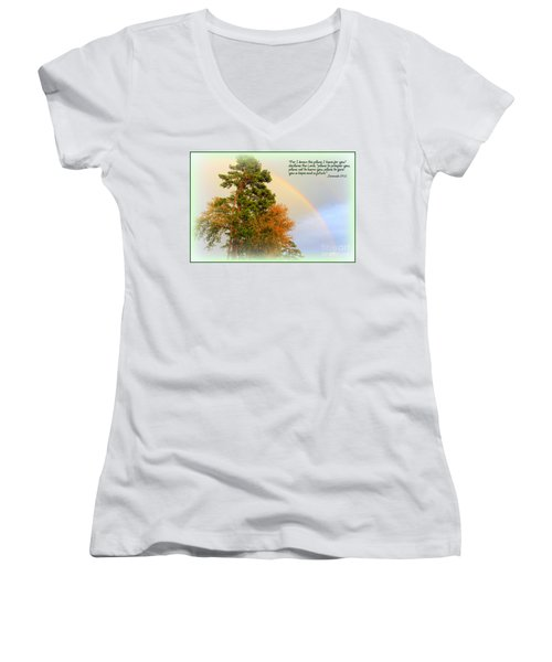 The Promises Of God Women's V-Neck T-Shirt