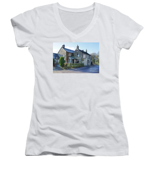 The Queen Anne At Great Hucklow Women's V-Neck