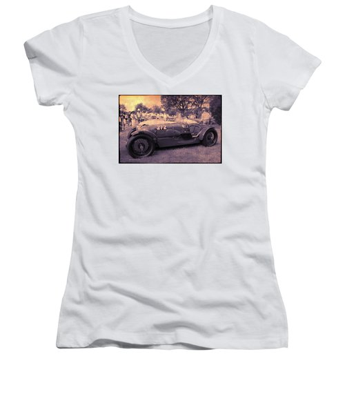 The Racer Women's V-Neck (Athletic Fit)