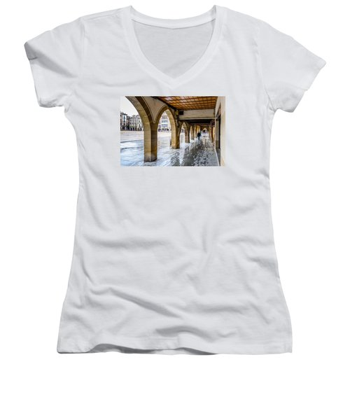 The Rain In Spain Women's V-Neck T-Shirt
