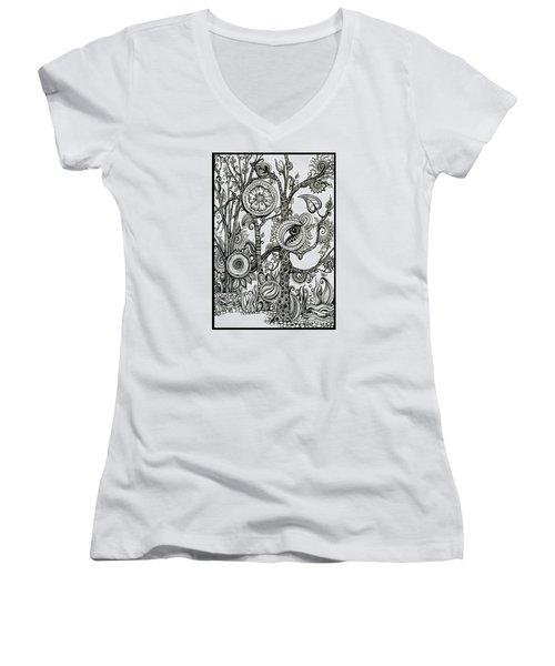 The Rainforest Women's V-Neck T-Shirt
