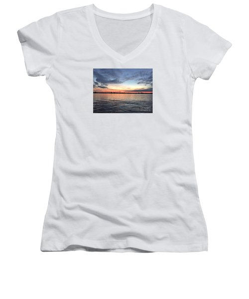 The Ripple Effect Women's V-Neck T-Shirt