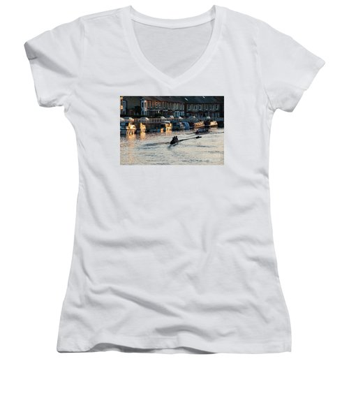 The Riverside Women's V-Neck (Athletic Fit)