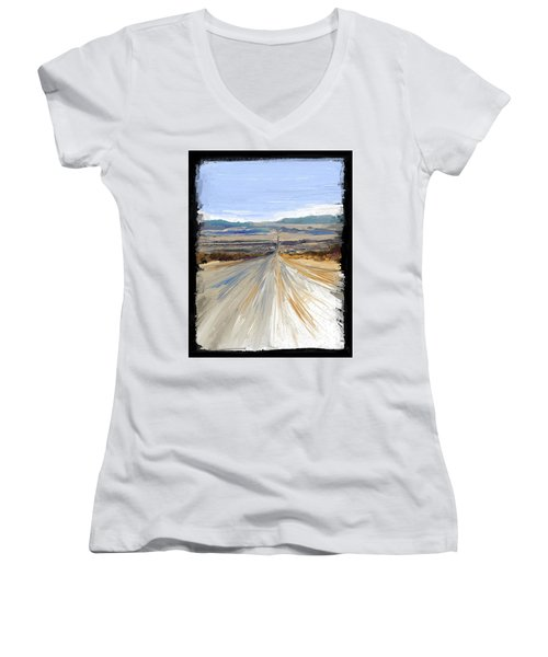 The Road Trip Women's V-Neck T-Shirt