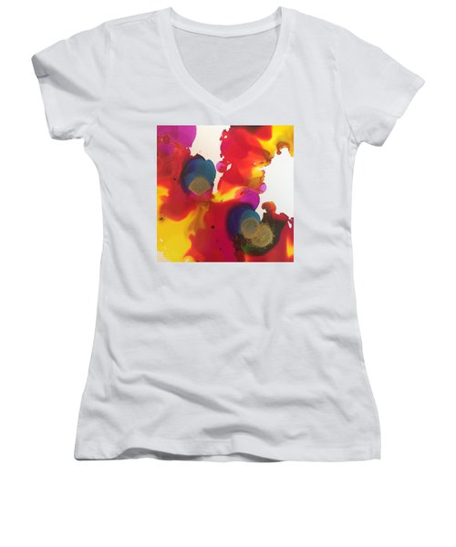 The Scream Women's V-Neck T-Shirt