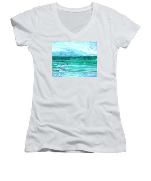 The Sea Women's V-Neck T-Shirt