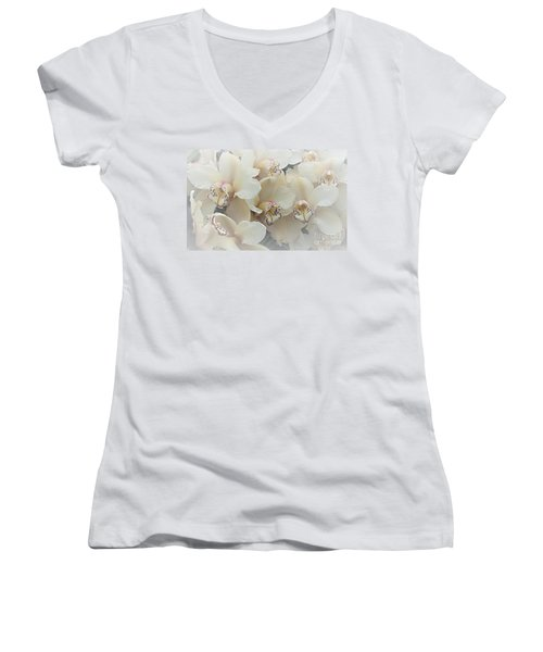 The Secret To Orchids Women's V-Neck T-Shirt