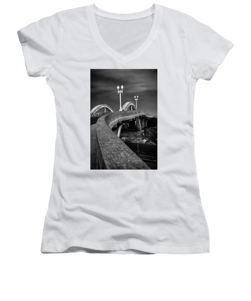 The Sierra Vista Bridge Of Roseville Women's V-Neck (Athletic Fit)