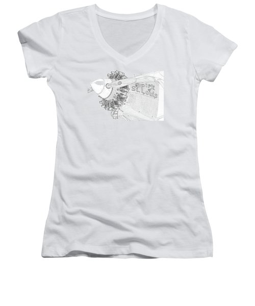 The Spirit Women's V-Neck