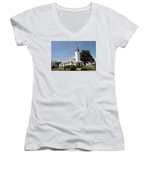 The St Francis De Sales R C Church Women's V-Neck