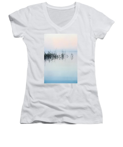 The Stillness Of Life Women's V-Neck T-Shirt (Junior Cut) by Shelby  Young