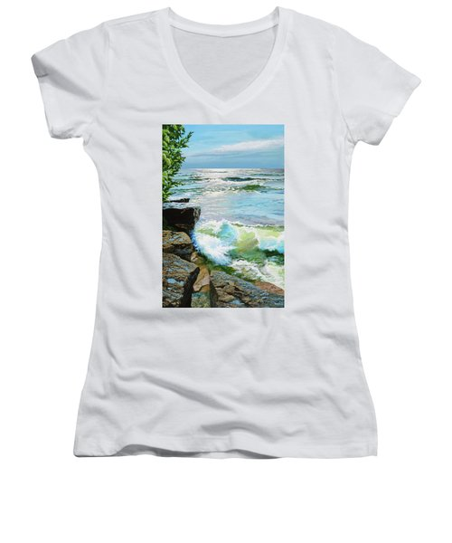 The Storm Is Gone Women's V-Neck