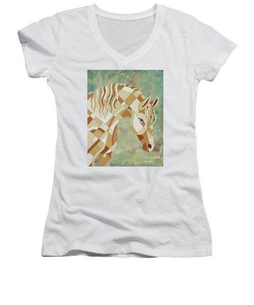 The Tao Of Positive Expectations Women's V-Neck (Athletic Fit)