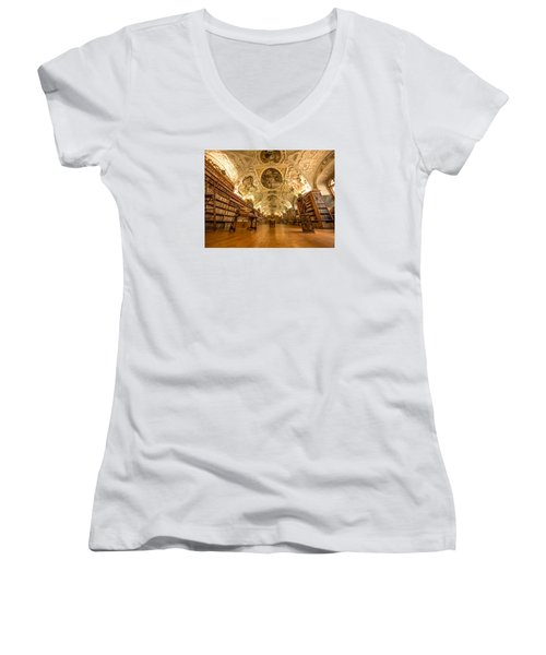 The Theological Hall Women's V-Neck T-Shirt