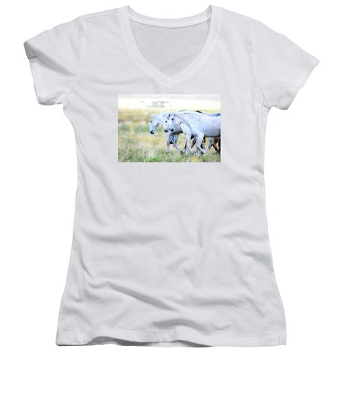 The Three Amigos Women's V-Neck T-Shirt