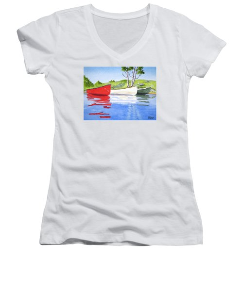 The Three Amigos Women's V-Neck