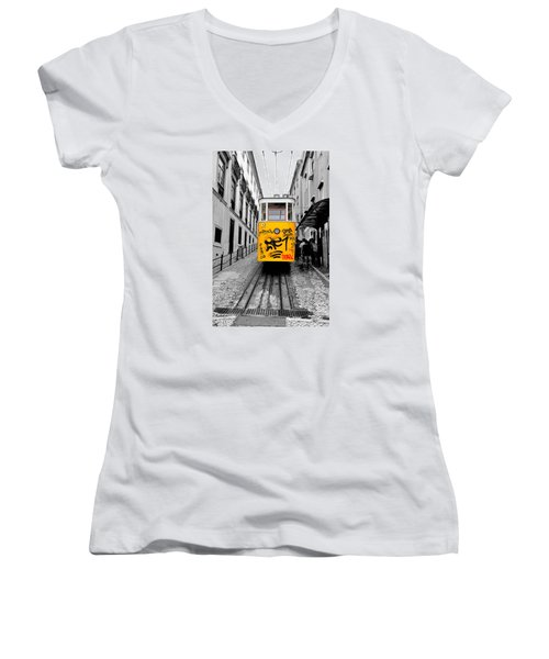 The Tram Women's V-Neck (Athletic Fit)