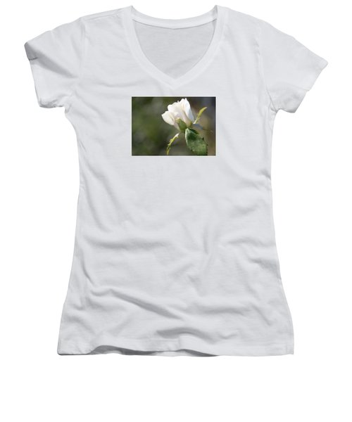 The Understudy Women's V-Neck T-Shirt (Junior Cut) by Cathy Donohoue