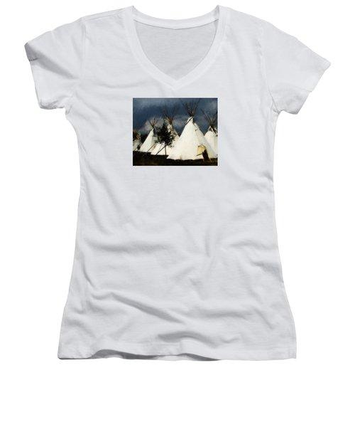 The Village Women's V-Neck T-Shirt