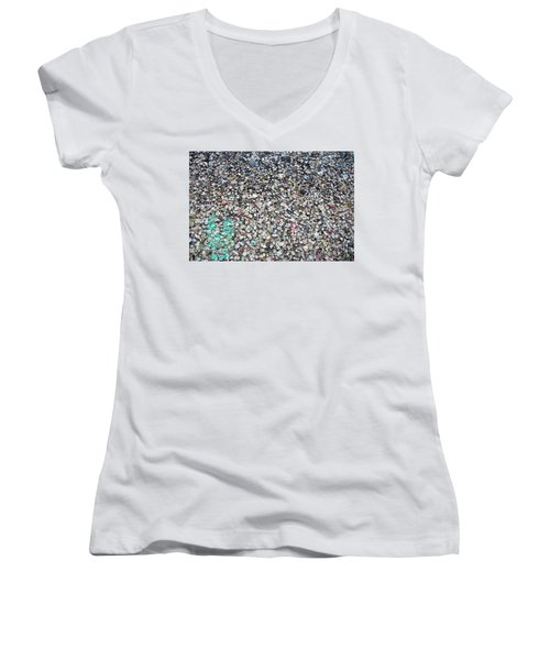 The Wall #6 Women's V-Neck
