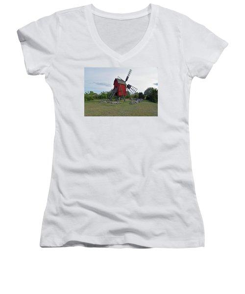 The Windmill Women's V-Neck