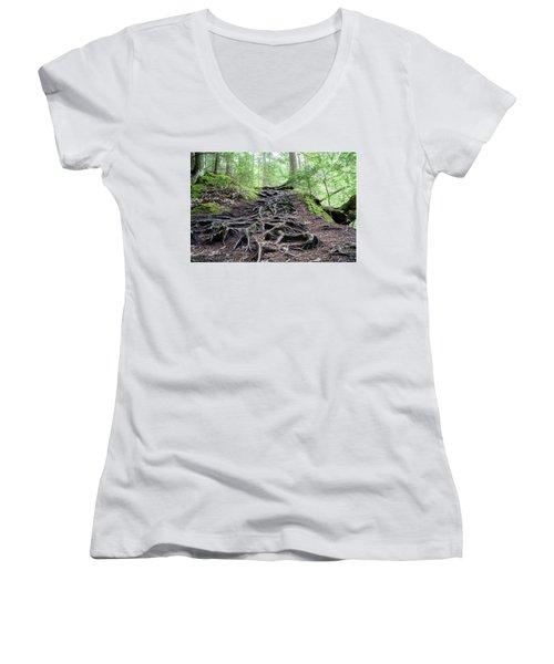 The Woods Women's V-Neck