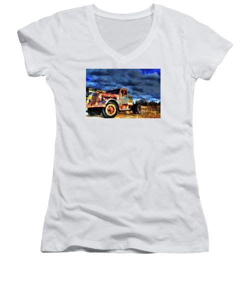 The Workhorse Women's V-Neck (Athletic Fit)