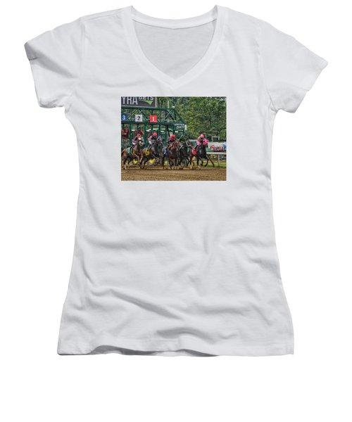 They're Off Women's V-Neck (Athletic Fit)