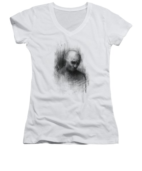 Thinker II Women's V-Neck T-Shirt (Junior Cut)