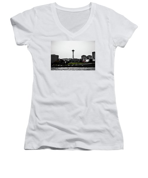 This Is Seattle  Women's V-Neck (Athletic Fit)