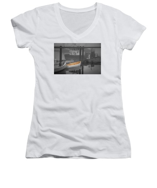 This Little Boat Women's V-Neck (Athletic Fit)