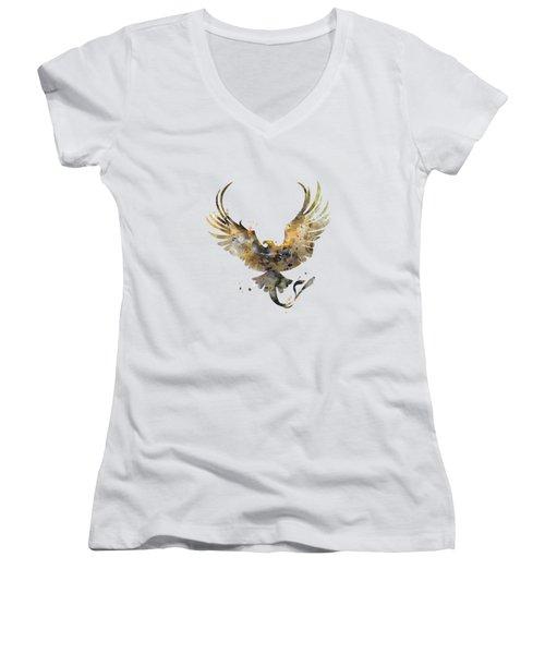 Thunderbird Women's V-Neck T-Shirt