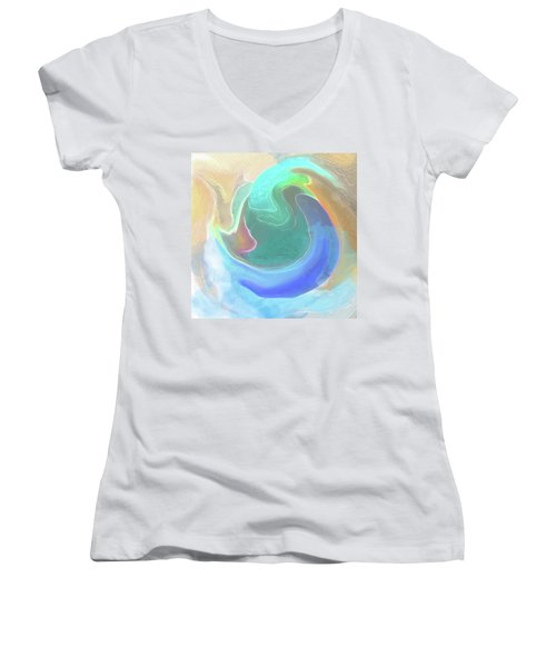 Tidal Pool Women's V-Neck