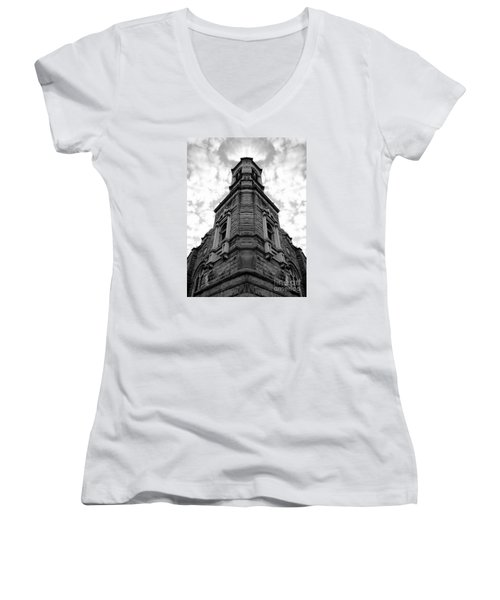 Time Four Women's V-Neck (Athletic Fit)