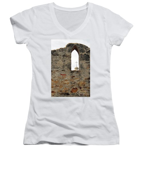 Timeless Women's V-Neck T-Shirt (Junior Cut) by Joe Jake Pratt
