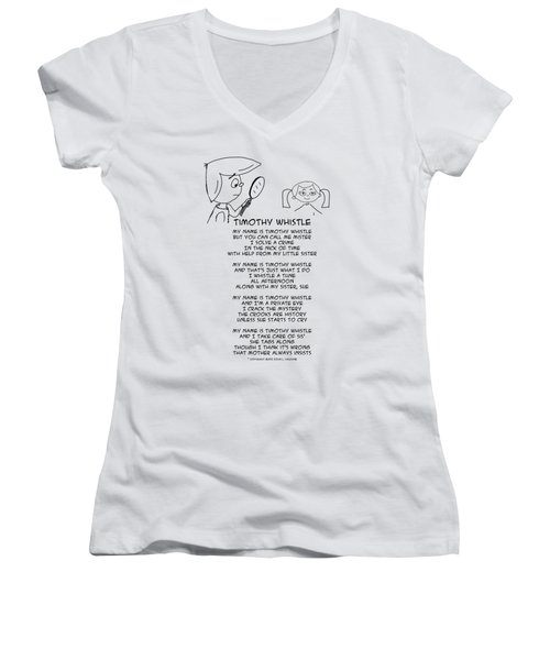 Timothy Whistle Women's V-Neck