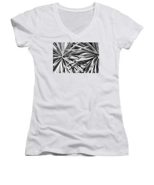 Together Women's V-Neck T-Shirt (Junior Cut) by Jim Rossol
