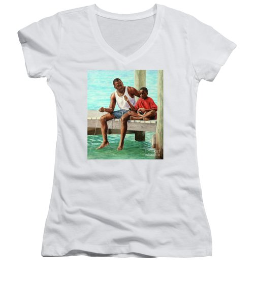 Together Time Women's V-Neck (Athletic Fit)