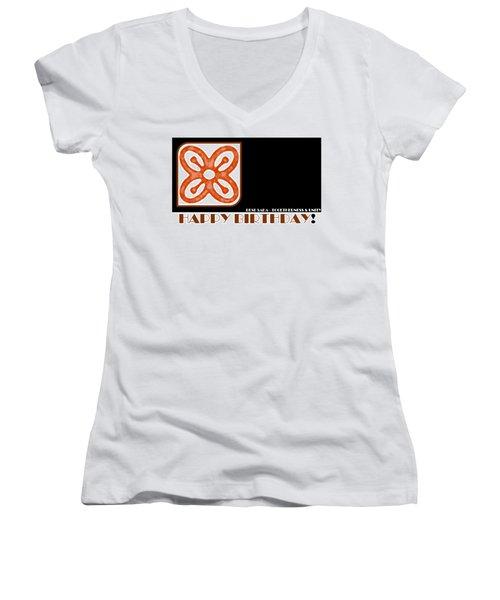 Togetherness Women's V-Neck T-Shirt (Junior Cut)