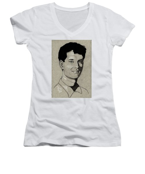 Tom Hanks Women's V-Neck T-Shirt